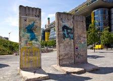 Германия, Берлин, Берлинская стена Стоковое фото RF