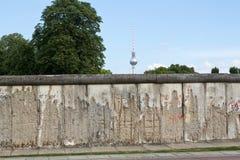 Германия, Берлин, Берлинская стена Стоковое Изображение RF