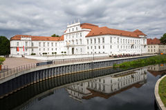 Германия, замок Oranienburg Стоковое Изображение RF