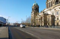 Германия beriberi Собор Берлина 16-ое февраля 2018 стоковое фото