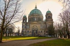 Германия beriberi Собор Берлина 16-ое февраля 2018 стоковое фото rf