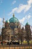 Германия beriberi Собор Берлина 16-ое февраля 2018 стоковое изображение