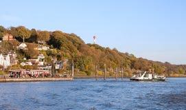 Германия hamburg Blankenese - один из самых богатых районов Гамбурга стоковые фото