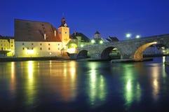 Германия regensburg Стоковое Изображение RF