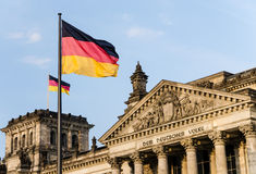 Германский Бундестаг Берлин Стоковая Фотография