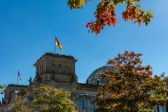 Германский Бундестаг Берлин Германия Стоковая Фотография