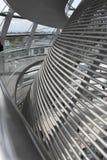 Германский Бундестаг придает куполообразную форму: в Берлине Стоковое Фото