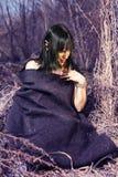 героиня сказки Эльф-девушки Стоковое Фото