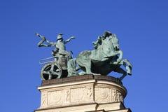 Герои квадратные в Будапеште, Венгрии, 2015 Стоковые Изображения RF