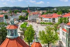 Герои улицы Monte Cassino в Sopot стоковое фото