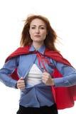 герой персонажа из мультфильма милый супер Стоковое фото RF