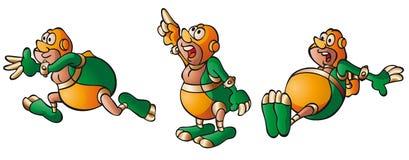 герой персонажа из мультфильма милый супер Стоковое Фото
