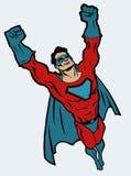 герой супер иллюстрация штока