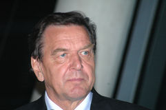 Герхард Шредер Стоковое фото RF