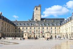 Герцогский дворец на Месте de Ла Libération, Дижоне, Франции Стоковое фото RF