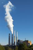 Герцог Энергия стогов дыма Стоковая Фотография