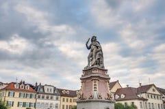 Герцог Eberhard Ludwig в Ludwigsburg, Германии стоковые фотографии rf