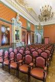Гетман Hall был построен в XVIII столетии как принцы Vyshnevetskies Hall Стоковые Фотографии RF