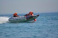 Гибралтар - чемпионаты 2014 кота грома участвуя в гонке европейские Стоковое Фото