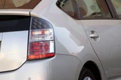 гибрид автомобиля задней стороны стоковое фото