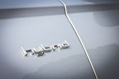 Гибрид 2014 Audi A6 Стоковое фото RF