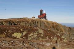 Гигантская башня ТВ горы Стоковое фото RF