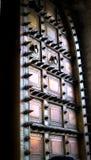 Гигантская дверь на дворце Джайпуре города Стоковое Изображение