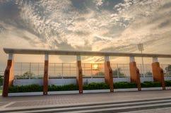 Гигантская загородка арены Стоковое Изображение RF