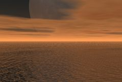гигантская луна Стоковое фото RF