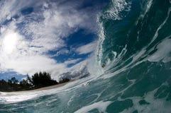 гигантская полая волна Стоковое Изображение