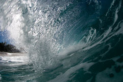 гигантская полая волна Стоковое фото RF