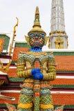 Гигантская скульптура в тайском виске Стоковое Изображение