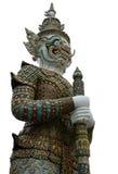 Гигантская статуя демона yaksha на грандиозном дворце в Бангкоке, Таиланде Стоковое Изображение