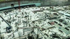 Гигантская строительная площадка пустыни Стоковое Фото