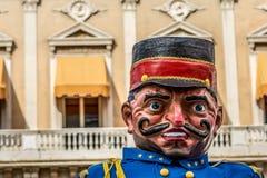 Гигантская традиционная кукла стоковые изображения