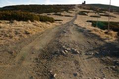 Гигантская тропа гор Стоковые Фотографии RF