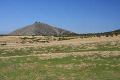 гигантские горы лужка Стоковое Фото