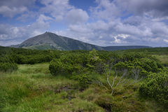 гигантские горы Стоковые Фотографии RF