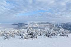 гигантские горы Стоковые Изображения RF