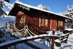 Гигантские горы/Karkonosze, зима Karpacz Стоковые Фотографии RF