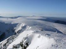 гигантские горы krkonose стоковое фото