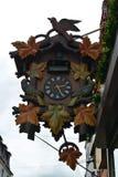 Гигантские часы с кукушкой Стоковые Изображения