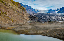 Гигантский ледник Стоковые Фото