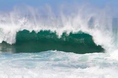 Гигантский пролом волны в Гавайи Стоковая Фотография RF