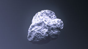 Гигантский серебряный наггет Стоковое Изображение RF