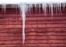 гигантский icicle Стоковые Фотографии RF