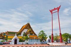 Гигантское качание перед Wat Suthat. стоковое фото rf