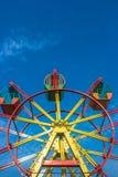 Гигантское колесо и голубое небо Стоковая Фотография RF