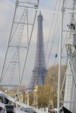 Гигантское колесо Ferris (большое Roue) в Париже Стоковое Фото