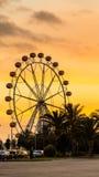Гигантское колесо ferris Валенсия Испания Стоковые Изображения RF